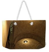 At Night Outside Union Station Weekender Tote Bag