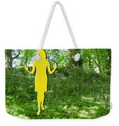 At One With Nature Weekender Tote Bag