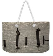 Seadrift Texas Birds At Rest Weekender Tote Bag