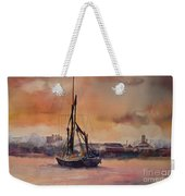 At Rest On The Thames London Weekender Tote Bag