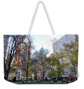 At Rittenhouse Square Weekender Tote Bag