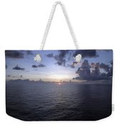 At Sea -- A Sunrise Begins Weekender Tote Bag