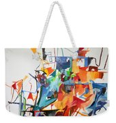 at the age of three years Avraham Avinu recognized his Creator 2 Weekender Tote Bag