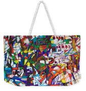 at the age of three years Avraham Avinu recognized his Creator Weekender Tote Bag