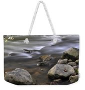 At The Banias River 3 Weekender Tote Bag