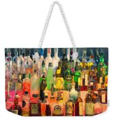 At The Bar 2 Weekender Tote Bag