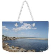 At The Bay  Weekender Tote Bag