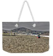 At The Beach At Pacifica Weekender Tote Bag