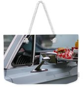 At The Carhop Weekender Tote Bag