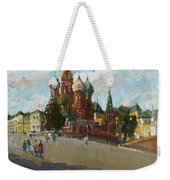 At The Cathedral Of Vasily The Blessed Weekender Tote Bag