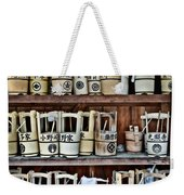 At The Cemetery Weekender Tote Bag