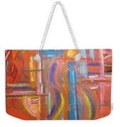 At The Crossroads Weekender Tote Bag