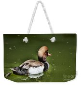 At The Duck Pond Weekender Tote Bag