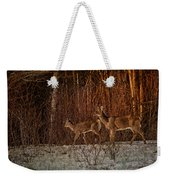 At The Edge Of The Woods Weekender Tote Bag