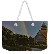At The End Of A Rainbow Weekender Tote Bag