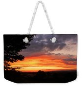 At The End Of The Day ... Weekender Tote Bag