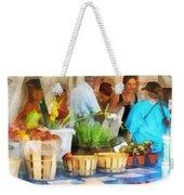At The Farmer's Market Weekender Tote Bag