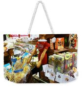 At The Florence Market  Weekender Tote Bag