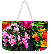 At The Flower Market  Weekender Tote Bag