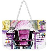 At The Hairdresser Weekender Tote Bag