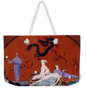 At The House Of Pasotz Weekender Tote Bag