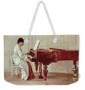 At The Piano Weekender Tote Bag
