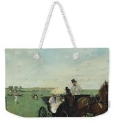 At The Races In The Countryside Weekender Tote Bag
