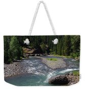 At The River's Heart Weekender Tote Bag