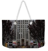 At The Rockefeller Center Weekender Tote Bag
