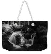 at the upper Bodefall, Harz Weekender Tote Bag