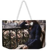 At The Window Weekender Tote Bag