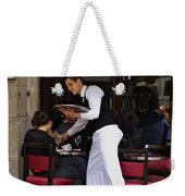 At Your Service Weekender Tote Bag
