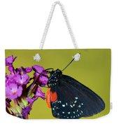 Atala Butterfly Weekender Tote Bag