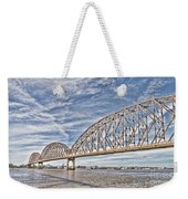 Atchafalaya River Bridge Weekender Tote Bag