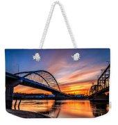 Atchison Sunset Weekender Tote Bag