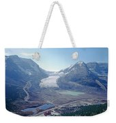 1m3735-athabasca Glacier Weekender Tote Bag