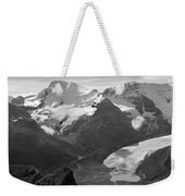 T-303504-bw-athabasca Glacier In 1957  Weekender Tote Bag