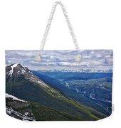 Athabasca River Valley - Jasper Weekender Tote Bag