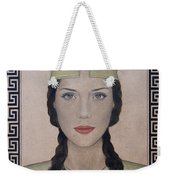 Athena Weekender Tote Bag by Lynet McDonald