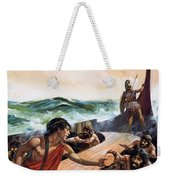 Athenian Trireme Weekender Tote Bag