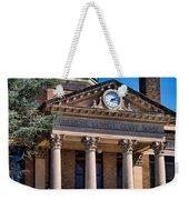 Athens Alabama Historical Courthouse Weekender Tote Bag