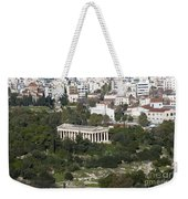 Athens Cityscape  Weekender Tote Bag