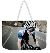 Athletic Male High Speed Cycling Weekender Tote Bag