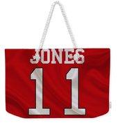 Atlanta Falcons Julio Jones Weekender Tote Bag