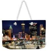 Atlanta Panoramic View Weekender Tote Bag
