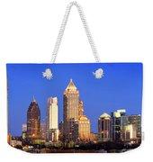 Atlanta Skyline At Dusk Midtown Color Panorama Weekender Tote Bag
