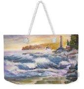 Atlantic Agitation Weekender Tote Bag