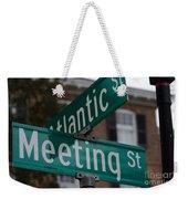 Atlantic And Meeting St Weekender Tote Bag