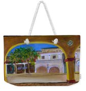 Atlantic Ave From The Shade Of Hands Weekender Tote Bag