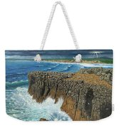 Atlantic Breakers Pontal Portugal Weekender Tote Bag
